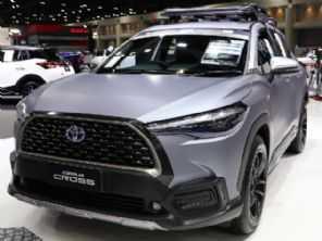 Novo Toyota Corolla Cross ganha opções de customização na Ásia