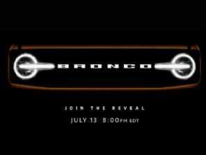 Cotado para Brasil, Bronco Sport tem data para lançamento