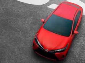 Toyota antecipa detalhes do novo visual para o Yaris 2021
