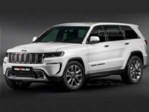 Nova geração do Jeep Grand Cherokee é adiantada por projeção