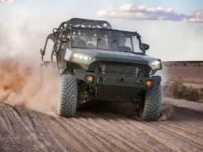 Equivalente norte-americana da Chevrolet S10 vira carro do exército nos EUA