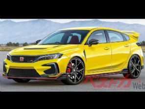 Veja como deve ficar o novo Honda Civic Type R 2022