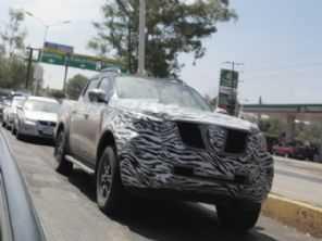 Atualização para a Nissan Frontier já está sendo testada