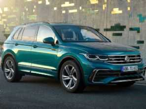 VW apresenta o facelift para a gama Tiguan; SUV ganha versão esportiva com 320 cv