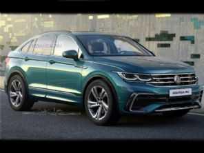 Tiguan X: novo SUV cupê da VW ganha projeção mais ''europeia''