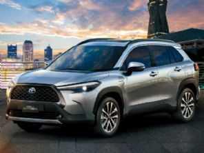 Cotado para o Brasil, Toyota Corolla Cross é revelado na Tailândia