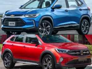 Por R$ 110.000: Chevrolet Tracker ou Volkswagen Nivus?