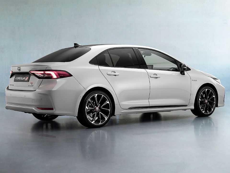Detalhe do novo Toyota Corolla GR Sport que será oferecido no mercado europeu