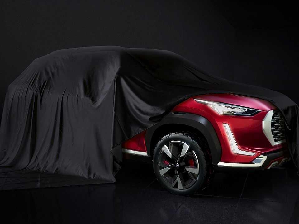 Teaser do futuro Nissan Magnite