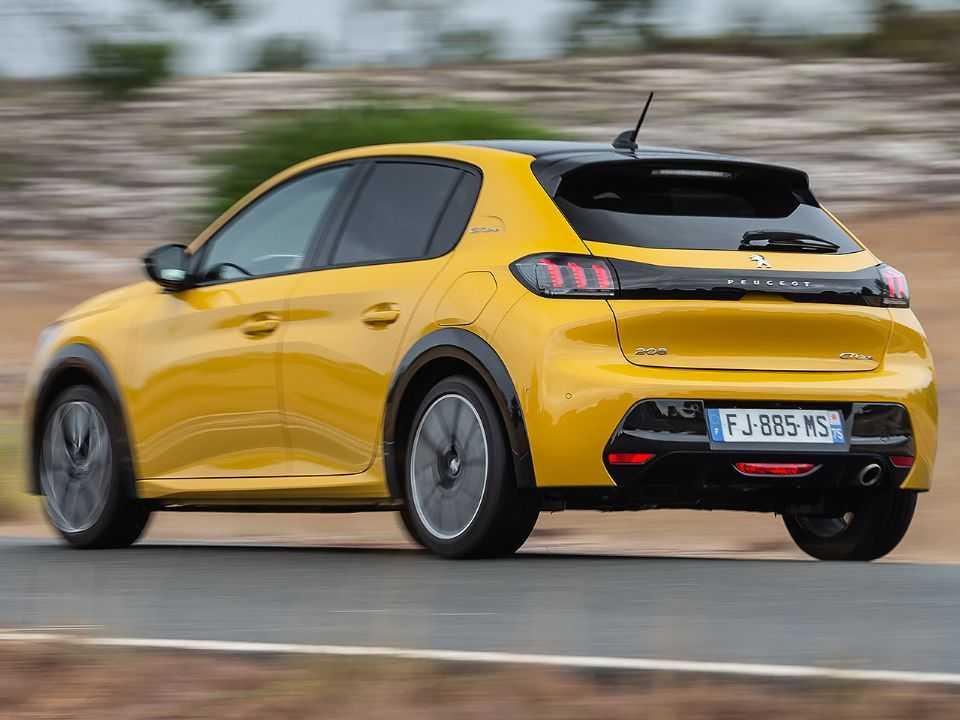 Novo Peugeot 208 atualmente vendido na Europa