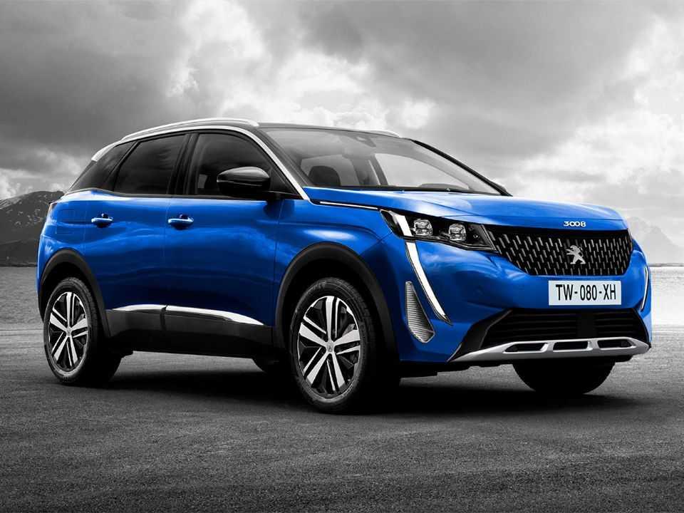 Projeção de Kleber Silva para o facelift do Peugeot 3008