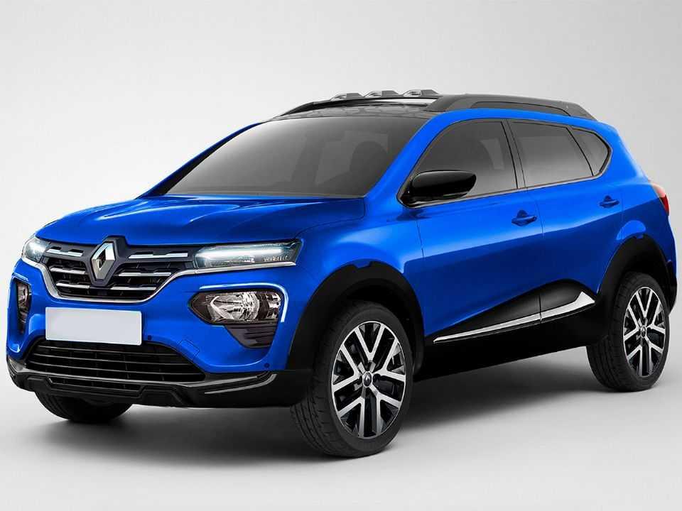 Projeção antecipa o futuro Renault Kiger