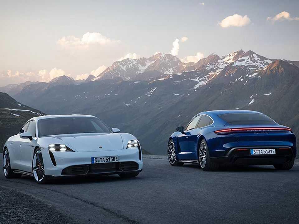 Porsche Taycan Turbo e Taycan Turbo S