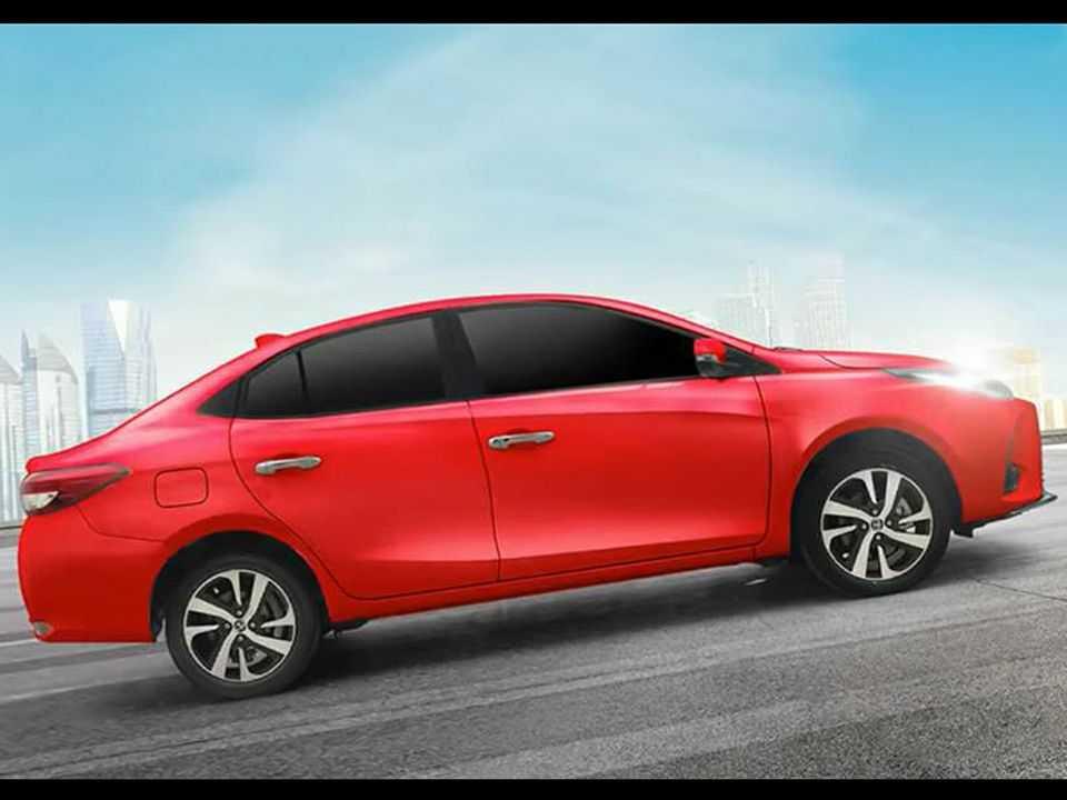 Teaser do novo Vios comercializado na Ásia: modelo antecipa o facelift do Yaris no Brasil