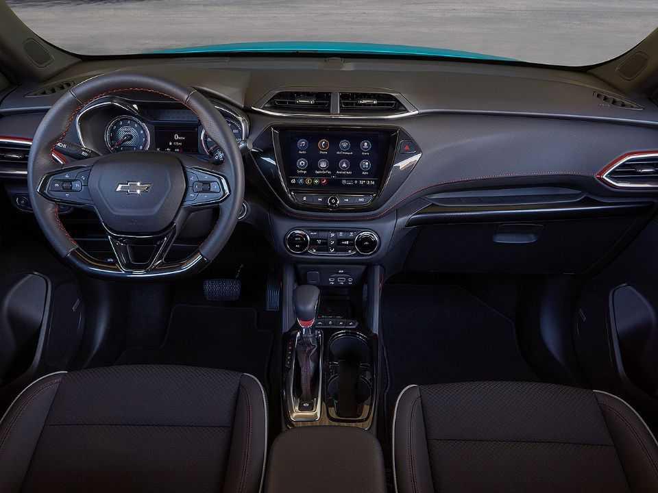 Acima o Chevrolet Trailblazer RS 2021 vendido nos EUA