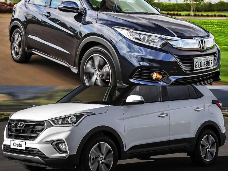 Honda HR-V e Hyundai Creta