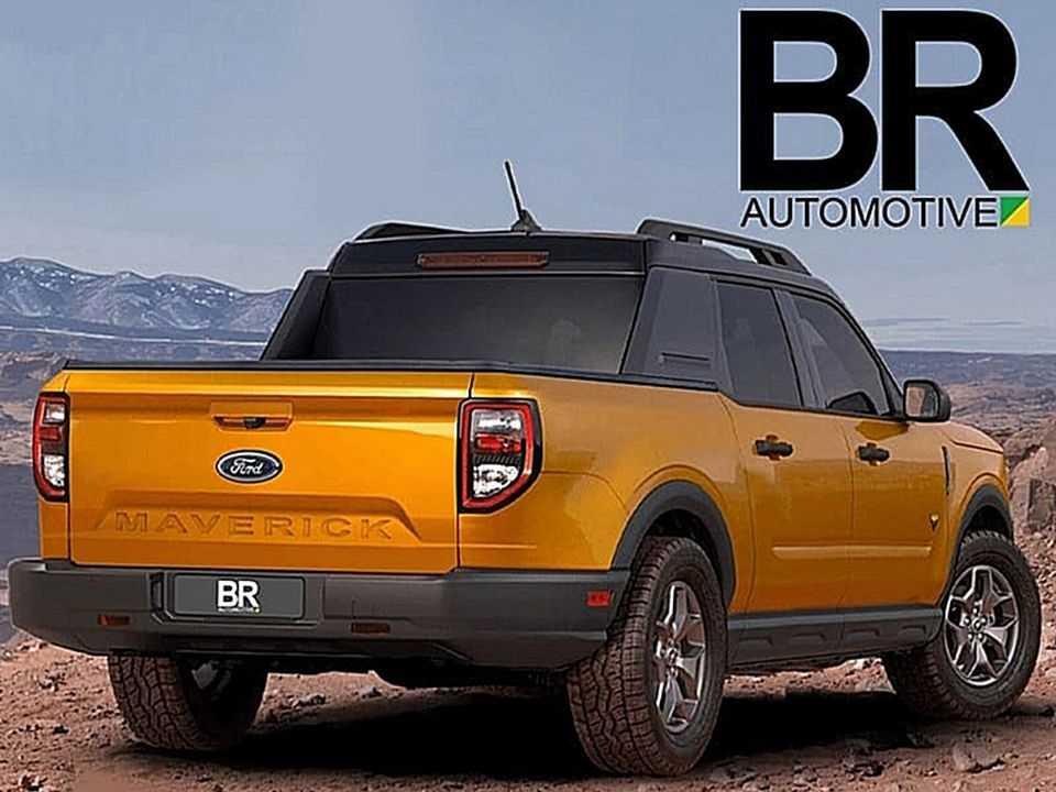 Projeção do BR Automotive para a inédita Ford Maverick
