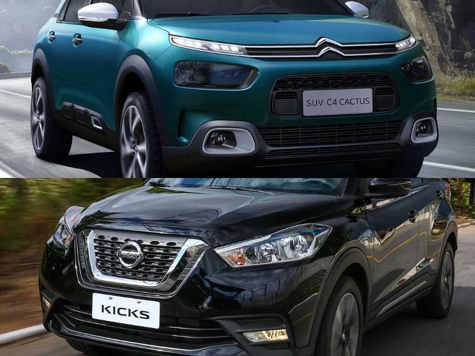 Citroën C4 Cactus e Nissan Kicks