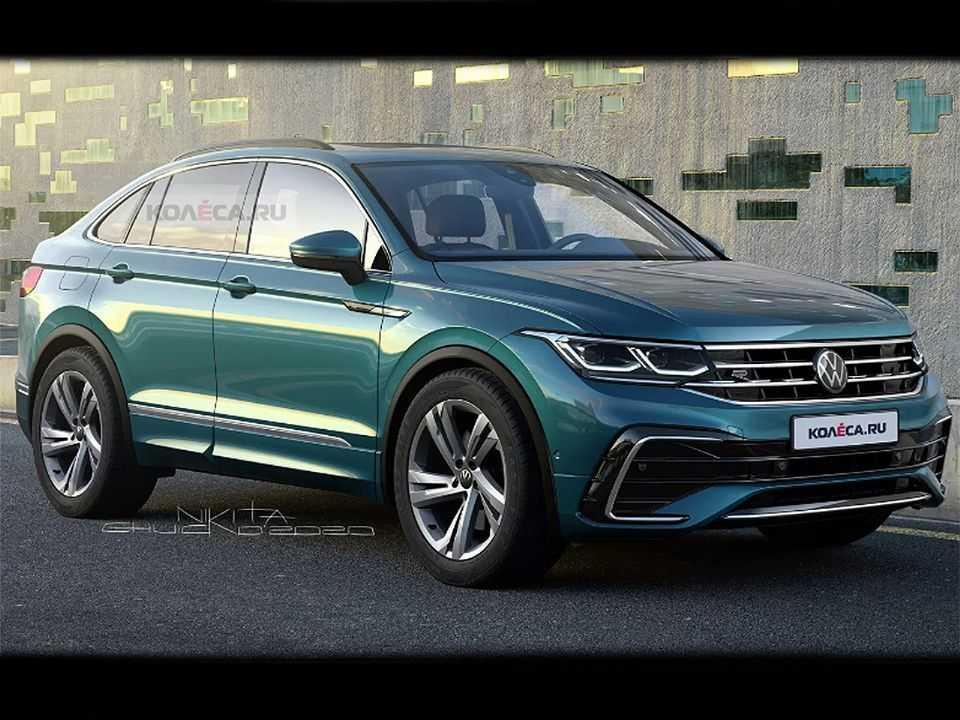 Projeção do Volkswagen Tiguan X para o mercado europeu