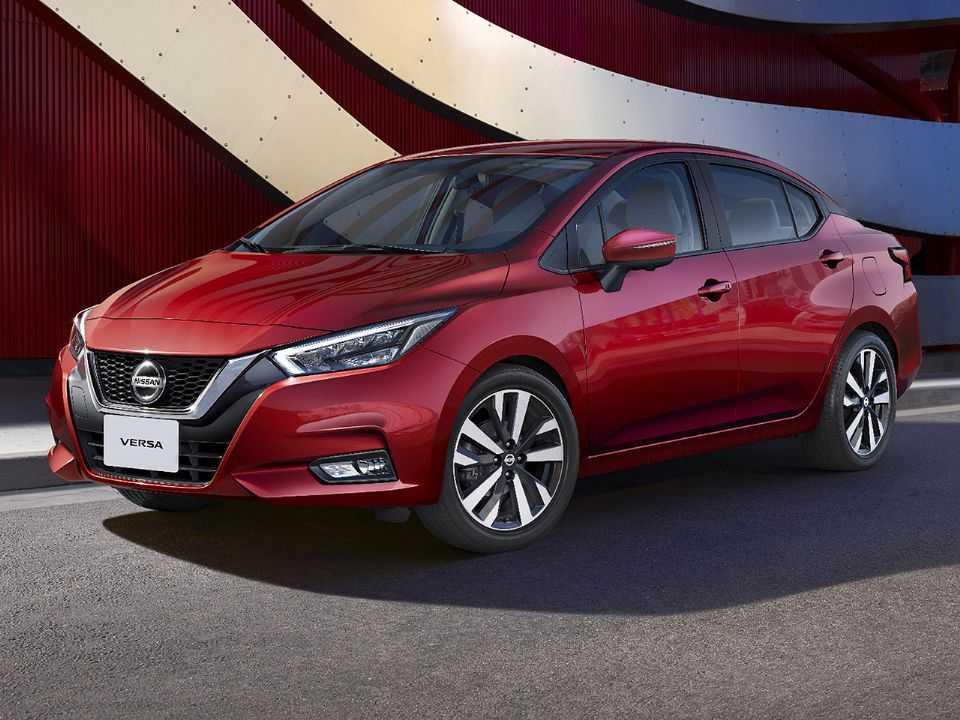 Nova geração do Nissan Versa estreia no Brasil no quarto trimestre de 2020