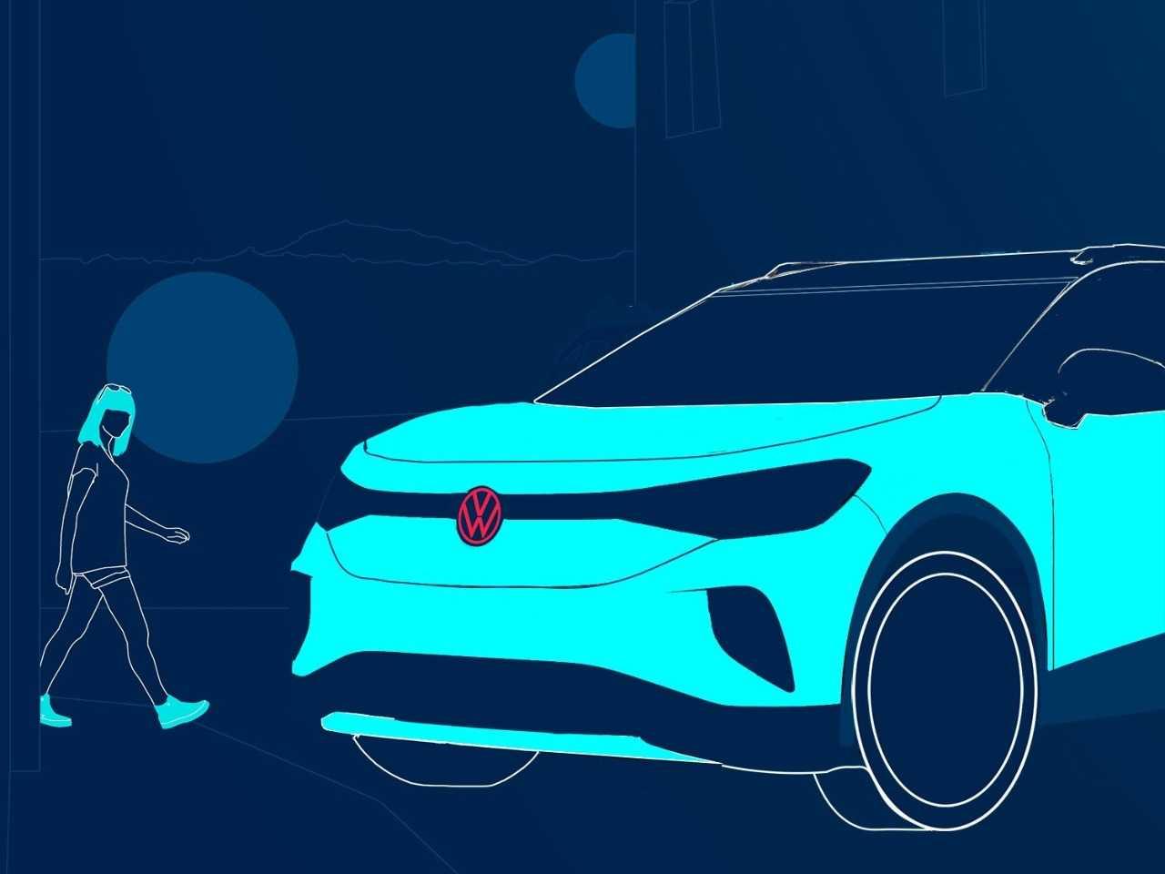 Volkswagen ID.4 teaser externo agosto 2020