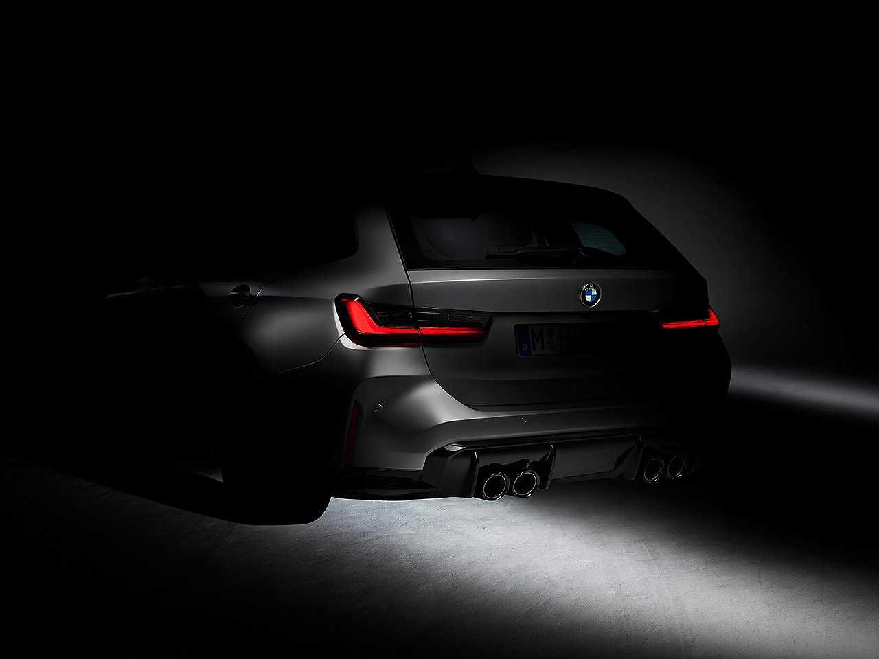 Teaser da BMW para a inédita M3 Touring