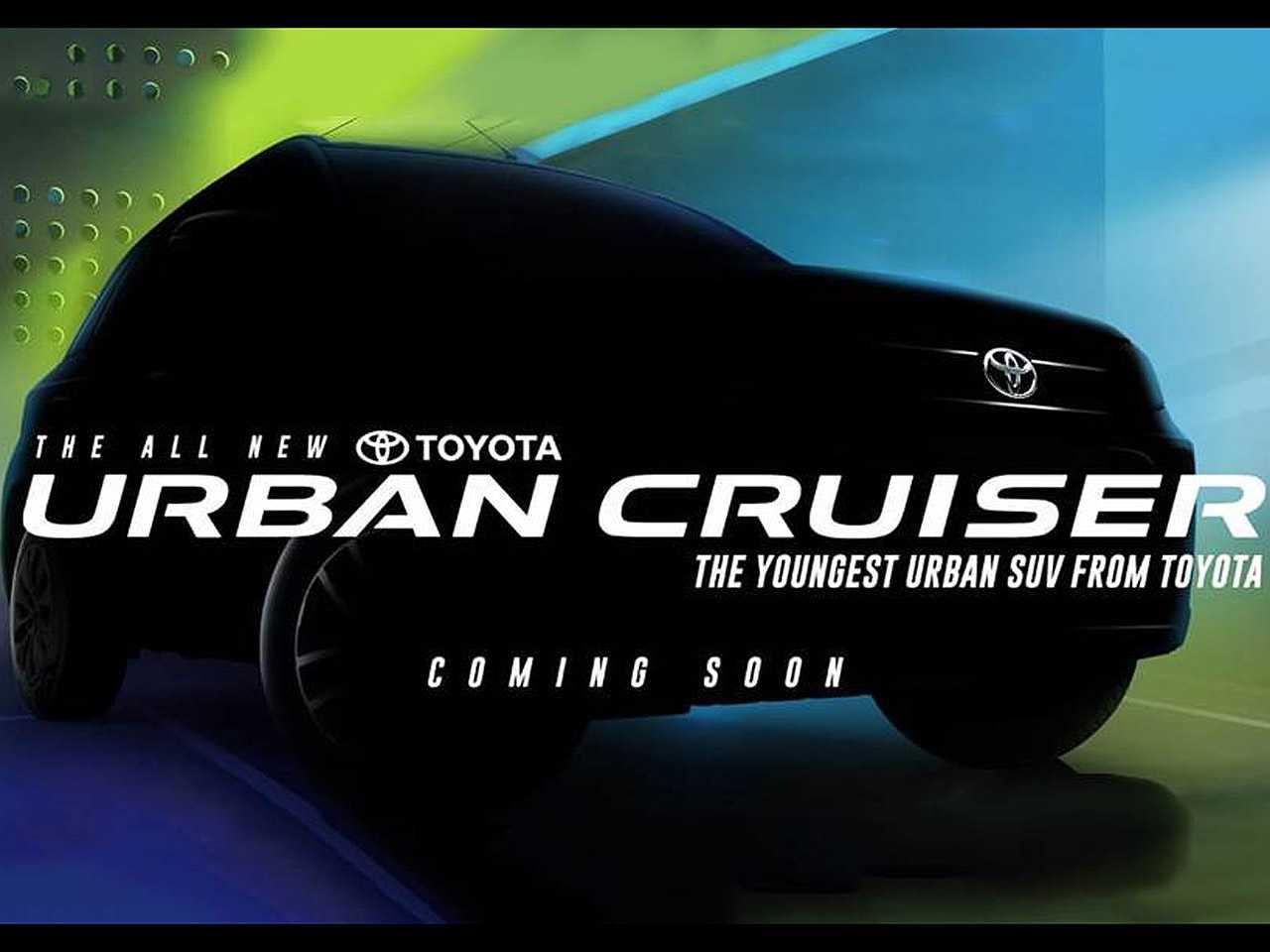 Suzuki Vitara torna-se Toyota Urban Cruiser na Índia