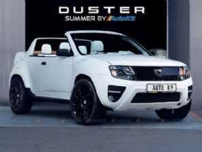 Duster Summer: romenos criam uma variante conversível do SUV