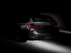 BMW revela teaser da primeira perua M3 da história