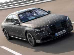 "Limusine ""esportiva"", novo Mercedes-Benz Classe S surpreende gringos"