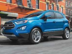 Nos EUA, Ford EcoSport é um dos piores usados para se revender