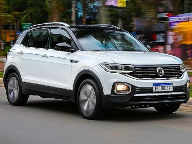 VW T-Cross 2021 estreia com nova central multimídia de série em todas as versões