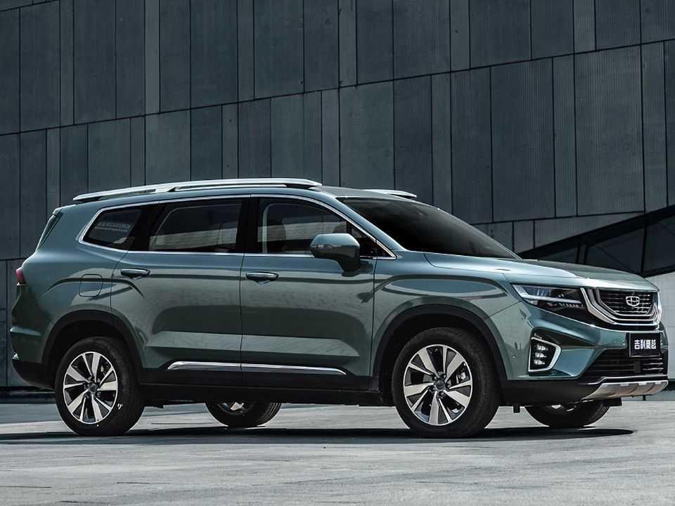 Geely Hao Yue, atualmente o SUV de maior porte dentro do portfólio da marca