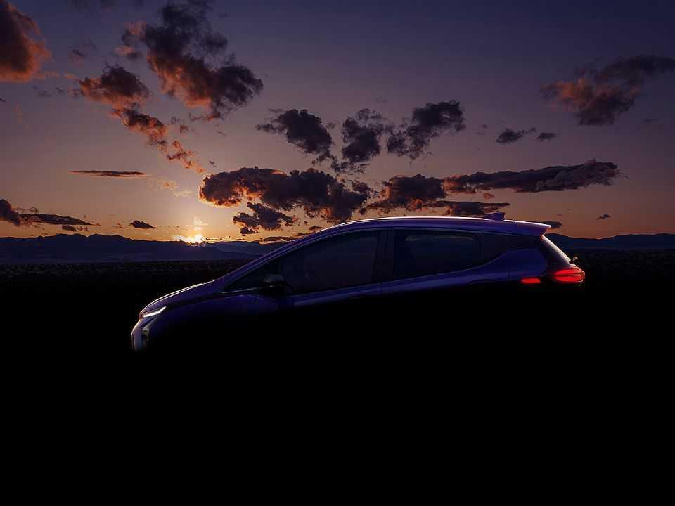 Teaser da Chevrolet para o futuro Bolt atualizado: apresentação ocorrerá em 2021