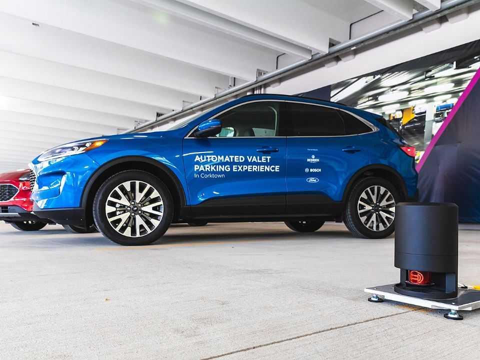Tecnologia do estacionamento automatizado em testes pela Ford nos EUA
