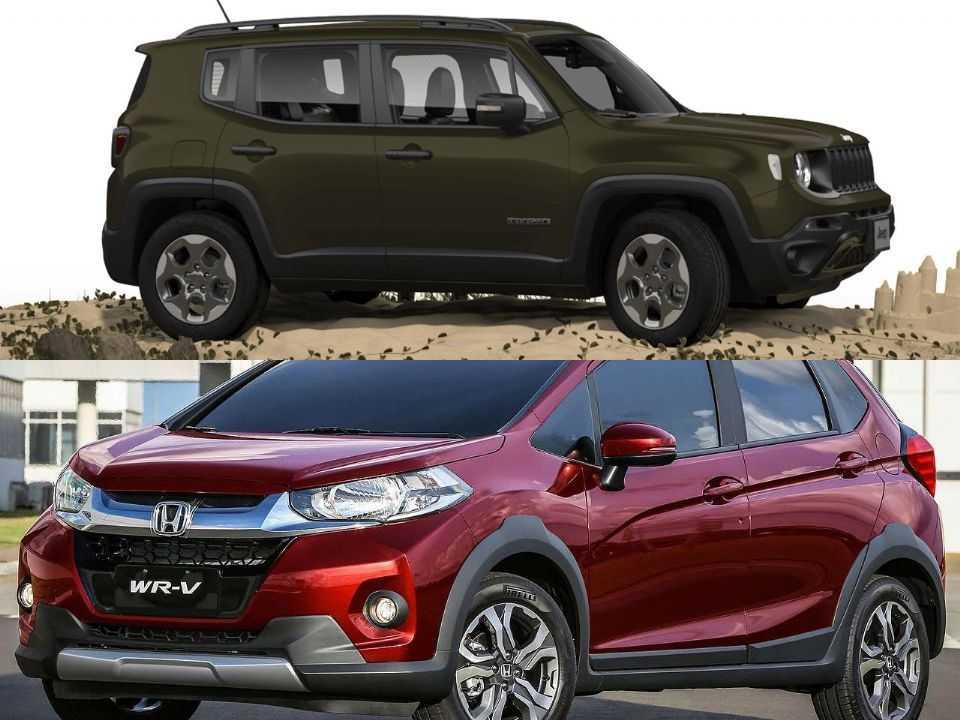 Jeep Renegade e Honda WR-V