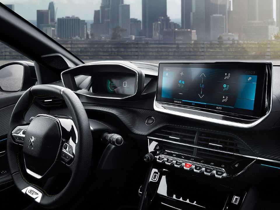 Interior da nova geração do Peugeot 2008