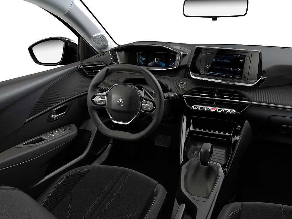 Interior do novo Peugeot 208 argentino