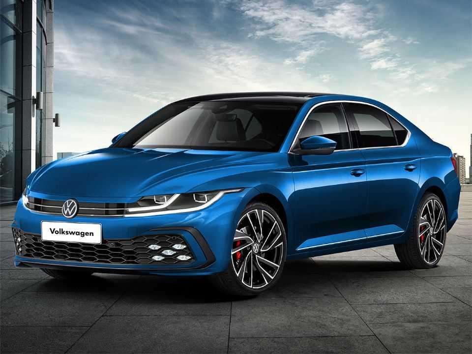 Projeção de Kleber Silva para a 9ª geração do Volkswagen Passat