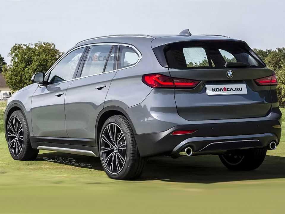 Projeção do site russo Kolesa para a próxima geração do BMW X1