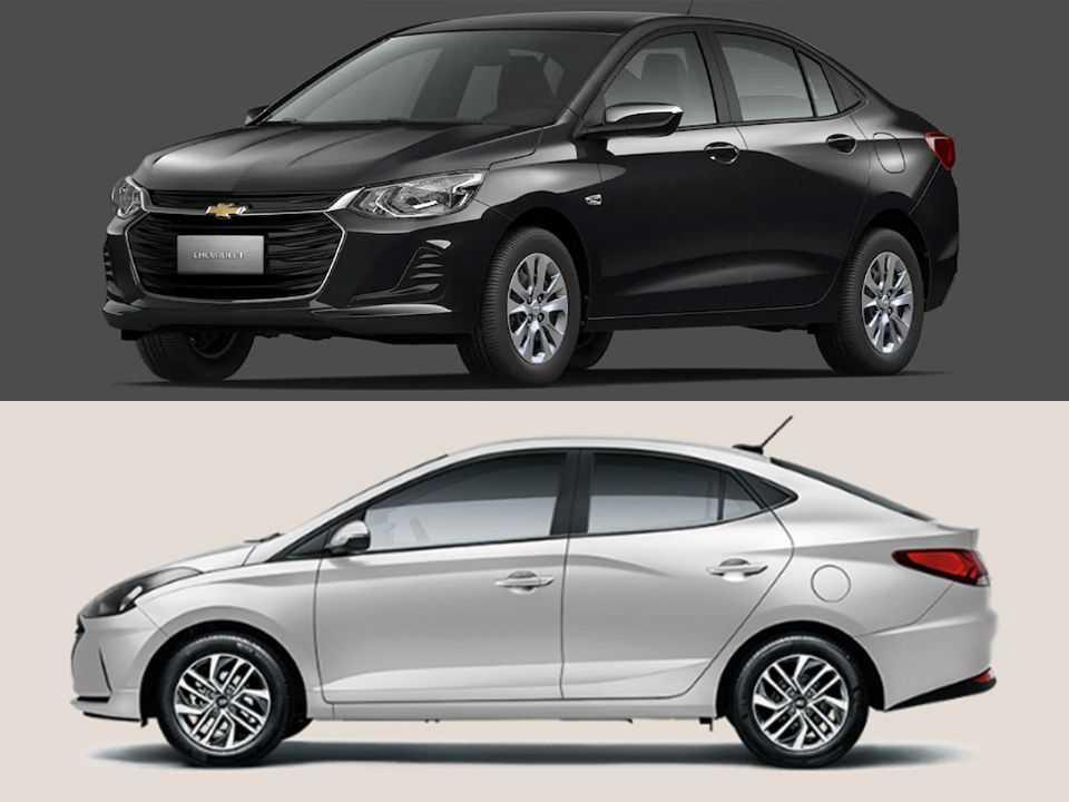 Chevrolet Onix Plus e Hyundai HB20S