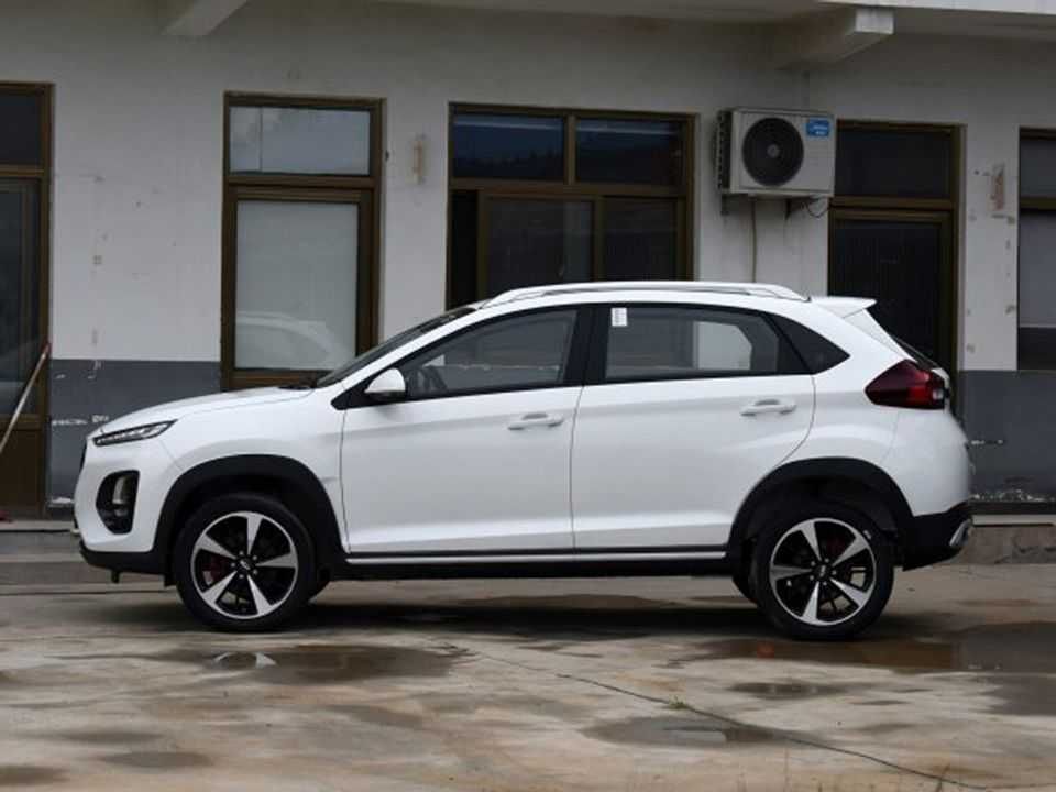 Facelift para o Tiggo 2 revelado na China