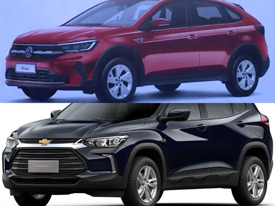 Volkswagen Nivus e Chevrolet Tracker
