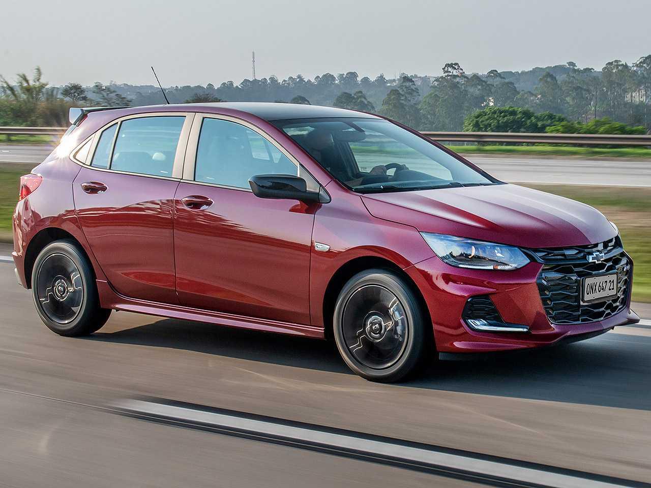 ChevroletOnix 2021 - ângulo frontal