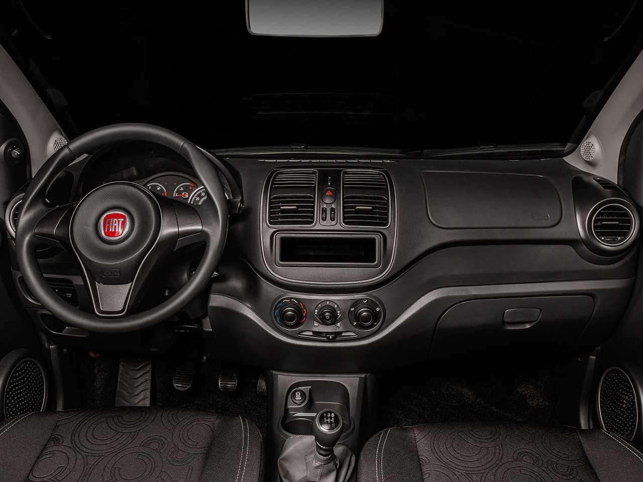 FiatGrand Siena 2020 - painel