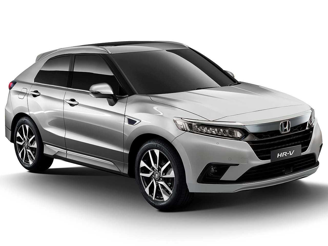 Projeção atualizada de Kleber Silva para a segunda geração do Honda HR-V