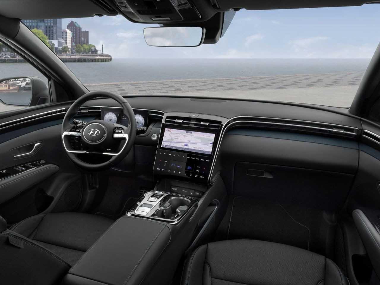 HyundaiTucson 2021 - frente