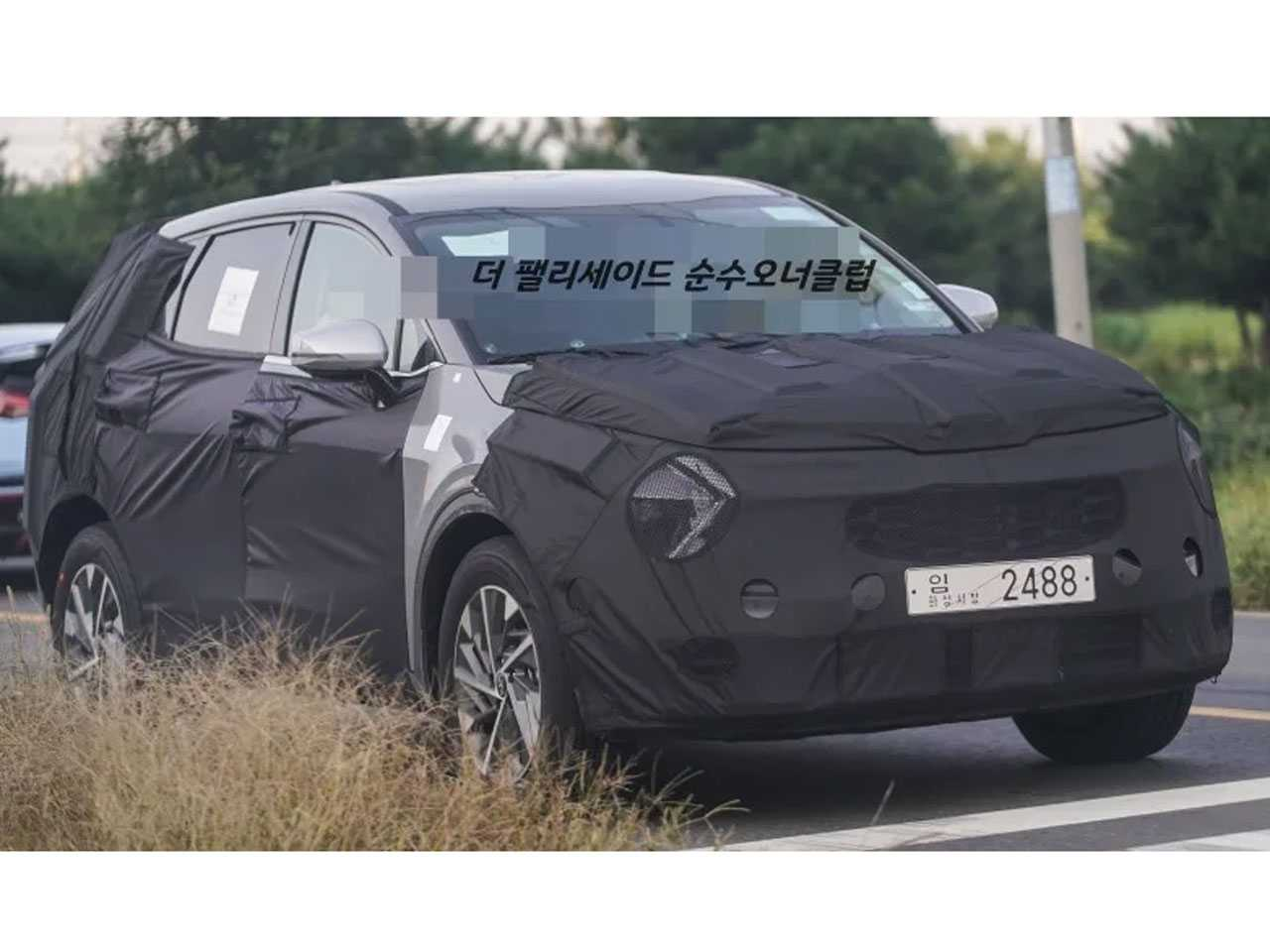 Flagra do novo Kia Sportage 2022