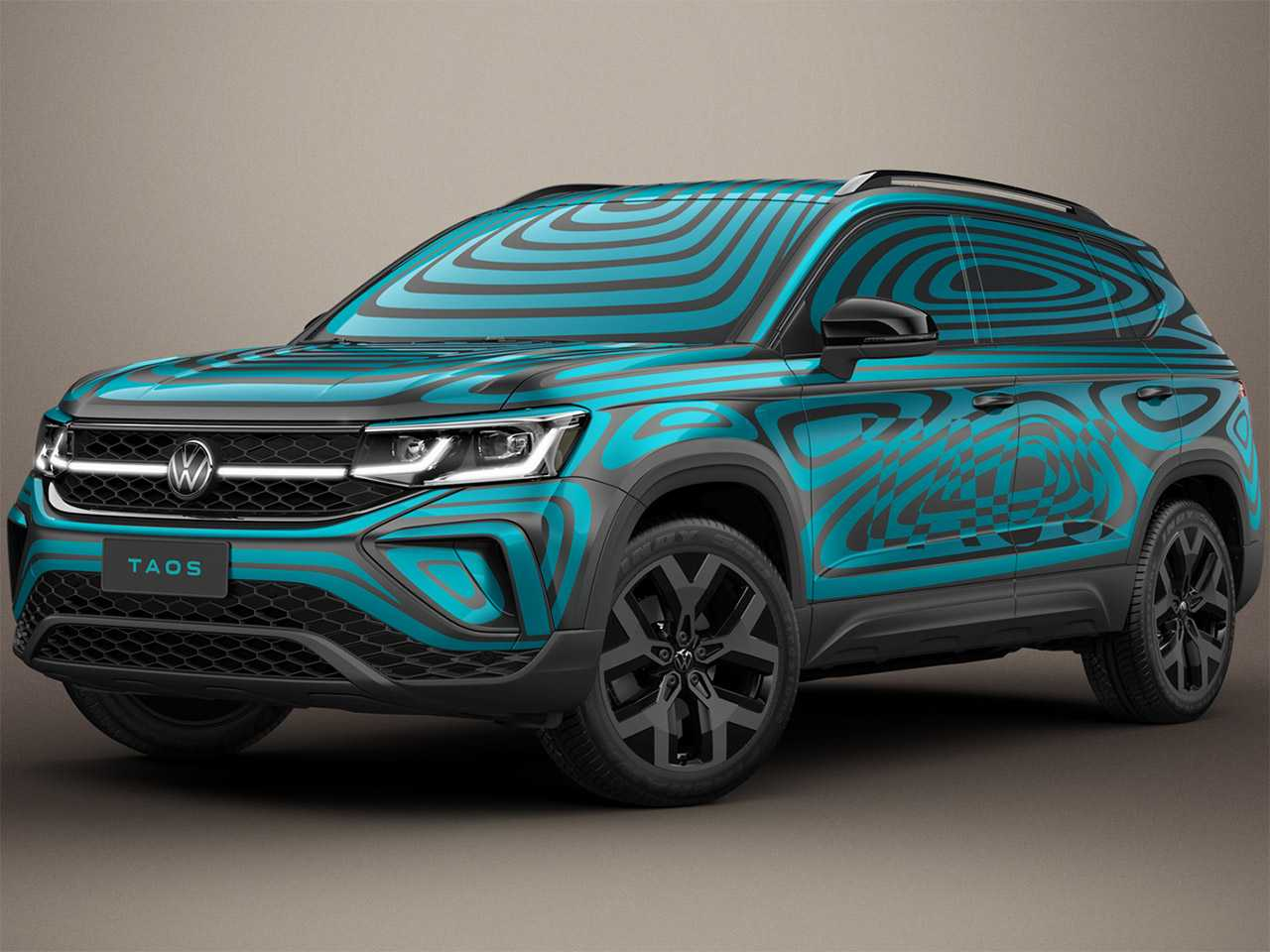 VolkswagenTaos 2021 - ângulo frontal