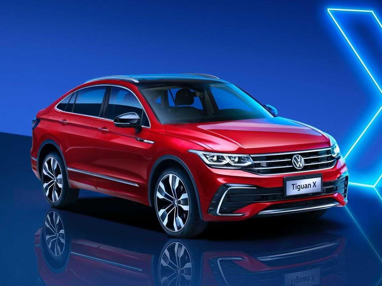 Galeria de fotos: VW Tiguan X: SUV cupê maior que o Nivus ...